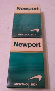 Фото антиквар, Фумофилия Пачка от сигарет Newport