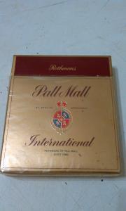 Фото антиквар, Фумофилия Пачка от сигарет Pall Mall