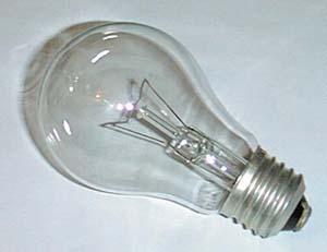 лампа накаливания УЛН 150W Е 27  220V