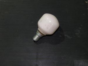 Фото лампочки накаливания лампа накаливания голубая 40W  Е 14