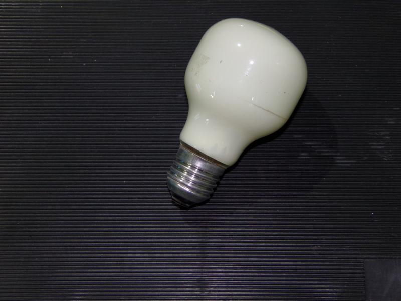 лампа накаливания лимон 60W  Е 27