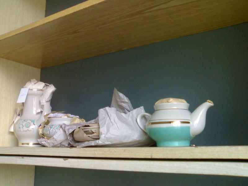 Чайный сервиз на 4 человека.