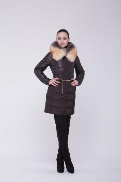 3440 BlackDaffodil - Женское пальто