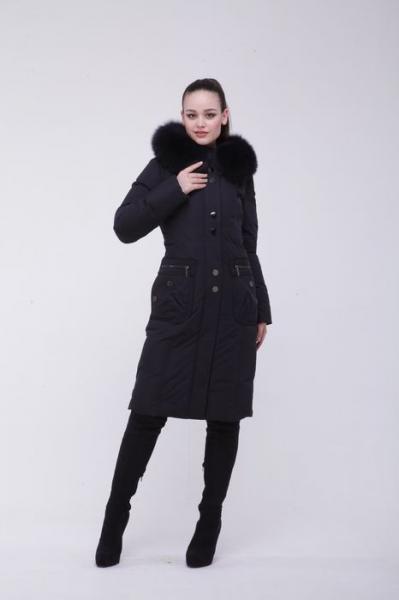 8072 BlackDaffodil - Женское пальто