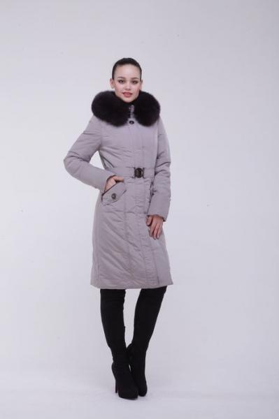 9058 BlackDaffodil - Женское пальто