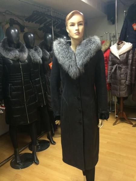 DY-165 Ostrich - Женское пальто
