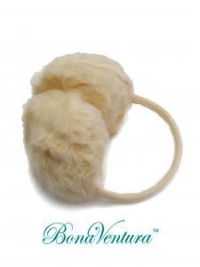 Фото Ушки Ушки зимние однотонные, искусственный мех