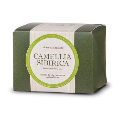 Camellia Sibirica (Камелия сибирика) з курильським чаєм, фільтр-пакети