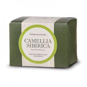 Фото Здоровий шлунок Camellia Sibirica (Камелия сибирика) з курильським чаєм, фільтр-пакети