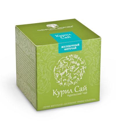 БАД Фіточай «Курил Сай» (Курильский чай) зелена упаковка