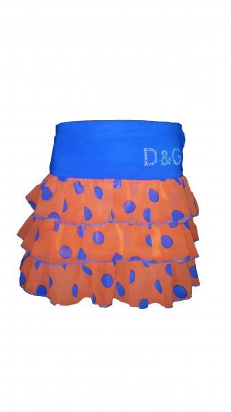 Детская шифоновая юбка Ламбада
