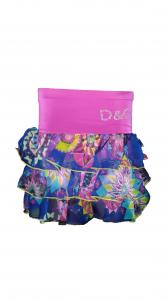 Фото Детская одежда оптом, Детские юбки Детская шифоновая юбка Ламбада