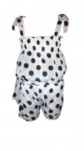Фото Детская одежда оптом, Летние платья, сарафаны, комбинезоны Детский шифоновый комбинезон