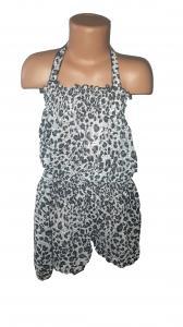 Фото Детская одежда оптом, Летние платья, сарафаны, комбинезоны Шифоновый комбинезон Лиопард