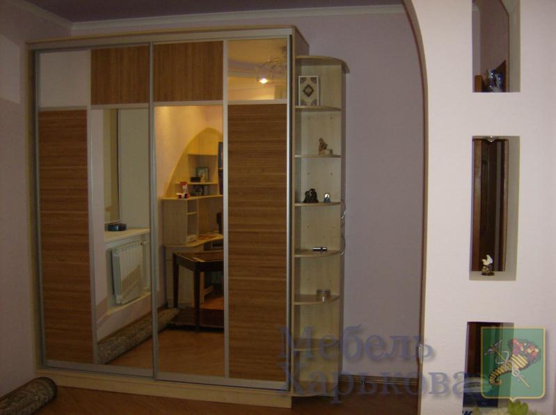 Шкафы-купе, встроенные шкафы - Изготовление мебели на заказ в Харькове