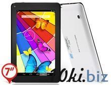 "JXD P1000M 7.0"" Capacitive Touch 800x480 Android 4.2.1 Dual Core MTK6572 1.2GHz Phablet Tablet PC with Bluetooth, 2G Calling & SMS , Wi-Fi (4GB) (White) купить в Братске - Комплектующие для компьютерной техники  с ценами и фото"