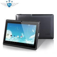 Клиренс 7 дюймов Q88 андроид планшет пк allwinner a13 1.2 ГГц 4 ГБ ROM емкостный экран двойная камера 2160 P