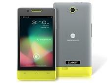 Cubot C9 + 4 & Quot; Емкостный IPS сенсорный 480х800 Android 4.2 Dual Core MTK6572 1.2GHz смартфон с Bluetooth, двойная камера (256 Мб оперативной памяти и усилителя; 512 ROM) (желтый)