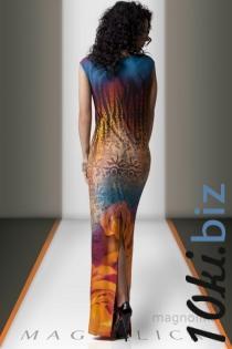 MAGNOLICA, ТРИКОТАЖНОЕ ПЛАТЬЕ 2292  Артикул: L-13653OR Платья в пол, макси платья в Москве