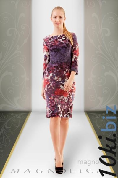 MAGNOLICA, ТРИКОТАЖНОЕ ПЛАТЬЕ 1962  Артикул: Z-14630FD Платья с рукавами, теплые платья оптом на рынке Садовод