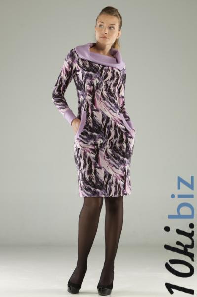 MAGNOLICA, ТРИКОТАЖНОЕ ПЛАТЬЕ 683  Артикул: Z-497FL Платья с рукавами, теплые платья оптом на рынке Садовод