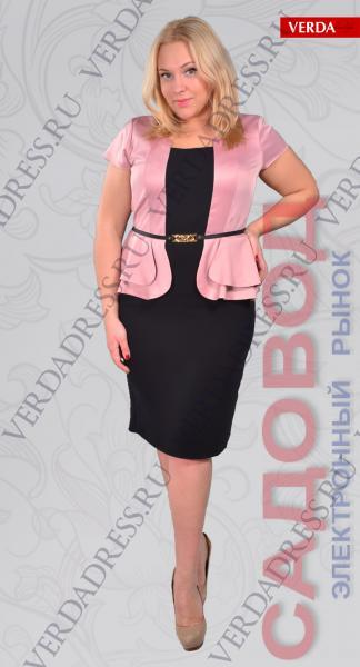 Платье Артикул: 997 Платья больших размеров на рынке Садовод