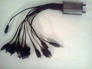 Фото Источники питания и зарядные устройства Универсальное зарядное устройство 10в1