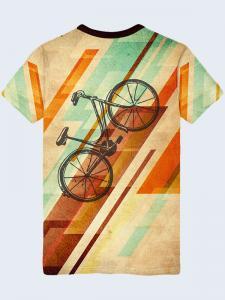 Фото Мужская одежда, Футболки и поло ФУТБОЛКА RETRO BICYCLE