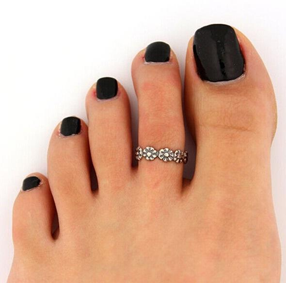 Кольцо на ногу Цветок