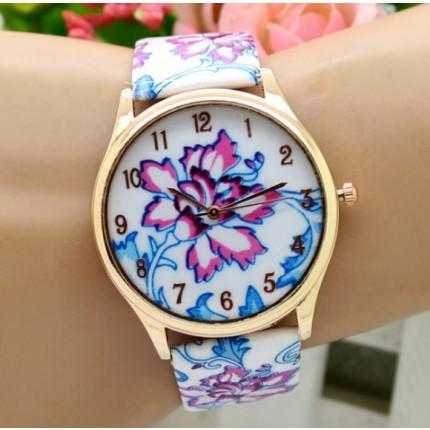 Часы наручные женские GENEVA Цветы