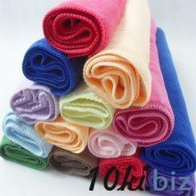 микрофибровые полотенца для лица пляжные полотенца 30 * 30 см купить в Иркутске - Полотенца  с ценами и фото