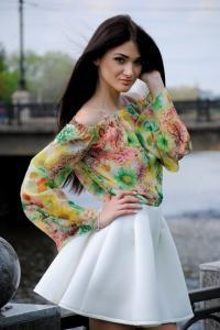Фото Оптовые продажи , Блузы и рубашки Блуза 1115 PL