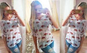 Фото Оптовые продажи , Блузы и рубашки Блуза 1120 PL