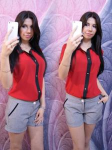 Фото Оптовые продажи , Блузы и рубашки Блуза 1125 PL