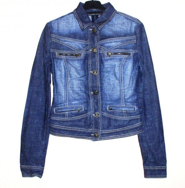 """Куртка джинсовая подростковая девичья """"Madnesdd national"""" *1218"""