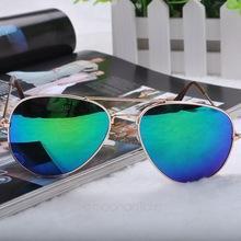 2015 дешевые солнцезащитные очки мужская одежда женская девушки прохладный Bat зеркало уф-защитой авиатор солнцезащитные очки очки аксессуары FMHM041 # s5