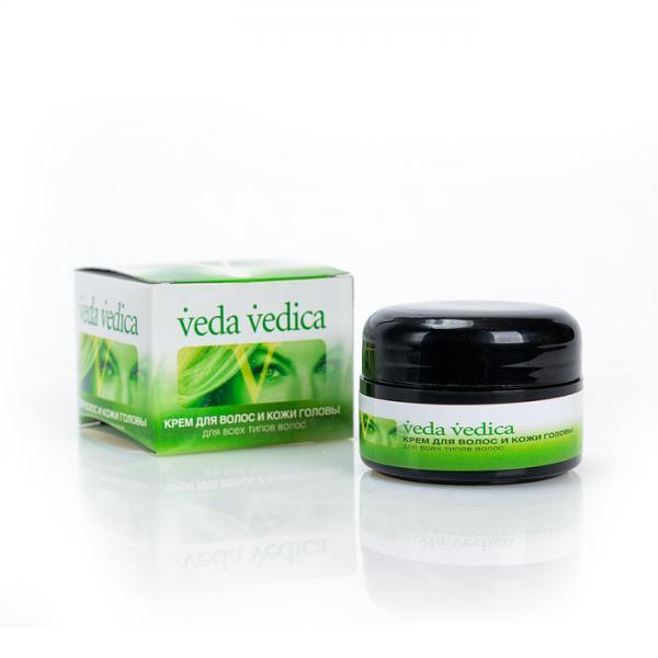 Крем для волос и кожи головы - 50 гр. Veda Vedica