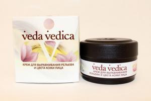 Фото Аюрведическая косметика Крем для выравнивания рельефа и цвета кожи лица - 50 мл.
