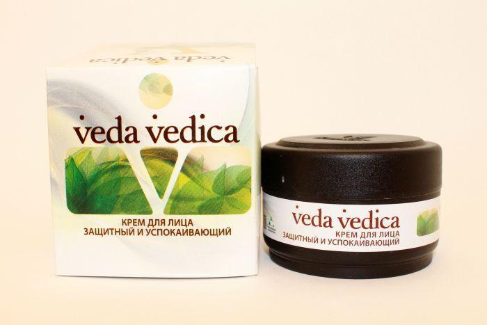 Крем для лица защитный и успокаивающий - 50 мл. Veda Vedica