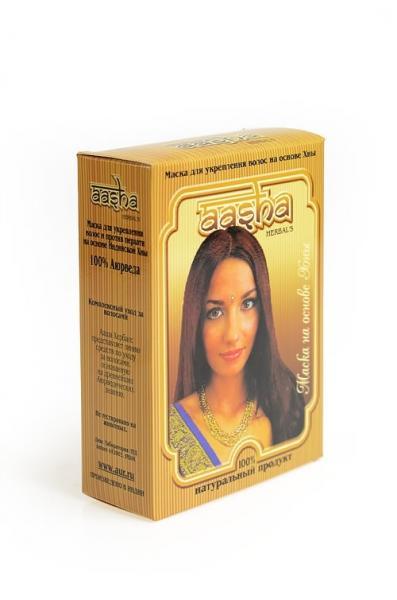 Маска для волос против перхоти на основе индийской хны 80 гр.
