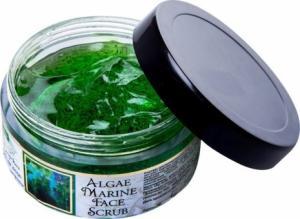 Фото Аюрведическая косметика Скраб для лица с морскими водорослями, 50 г