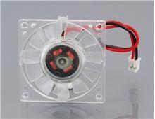 Фото Все, что дешевле трех баксов Тихий 2-контактный вентилятор охлаждения графического процессора видеокарты (прозрачный)