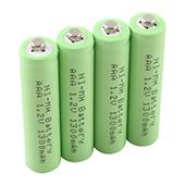 4 X Ni-MH AAA 1300mAh 1.2V Rechargeable 3A Neutral Battery #5