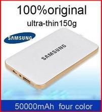 Ультратонкий 50000 мАч зарядное устройство портативный аккумулятор для Philips Lenovo Samsung iphone Xiaomi Huawei baterias портативное externas мобильных телефонов