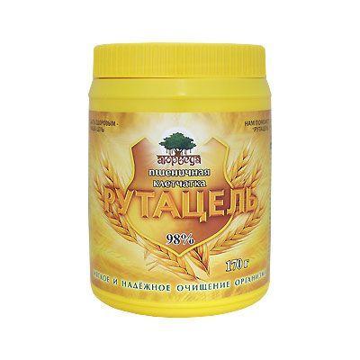 Рутацель (пшеничная клетчатка) 200 гр.