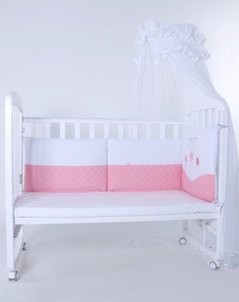 """Защита в детскую кроватку """"Принцессы"""" 300см + КПБ"""
