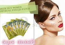 1 пара высокое качество золотой кристалл коллагена маска для глаз горячая распродажа глаз патчи