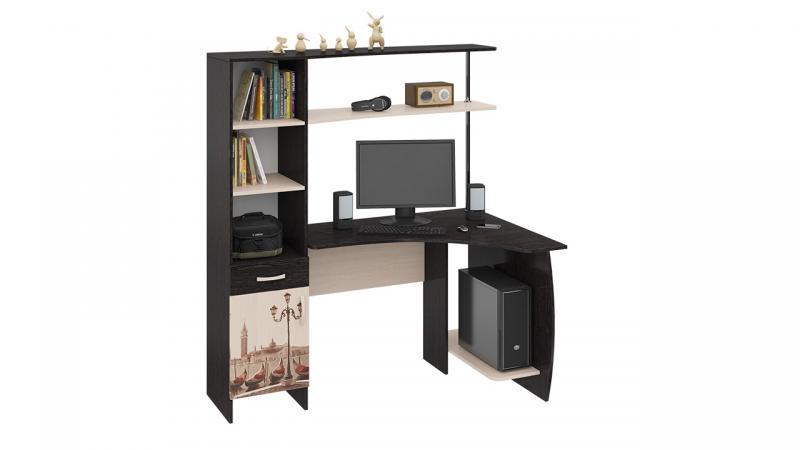 Фото Компьютерные столы ТриЯ-Стол компьютерный «Профи М с рисунком»