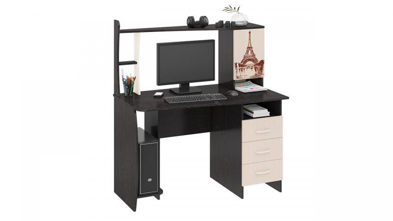 Компьютерный стол «Студент-Класс М» с рисунком(ТриЯ)