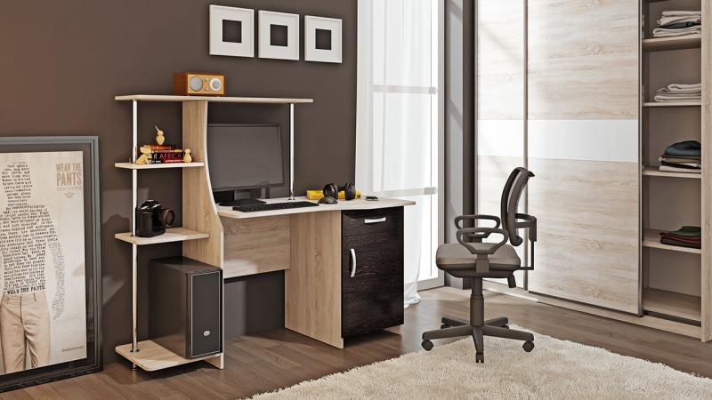 Фото Компьютерные столы ТриЯ-Компьютерный стол «Студент-Стиль М»